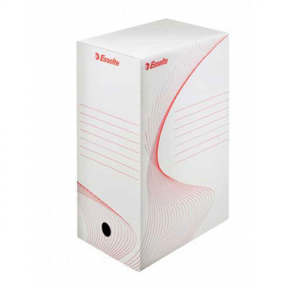 55bdbd404 Archívny box 150mm Esselte biela/červená - Kancelárske potreby ...
