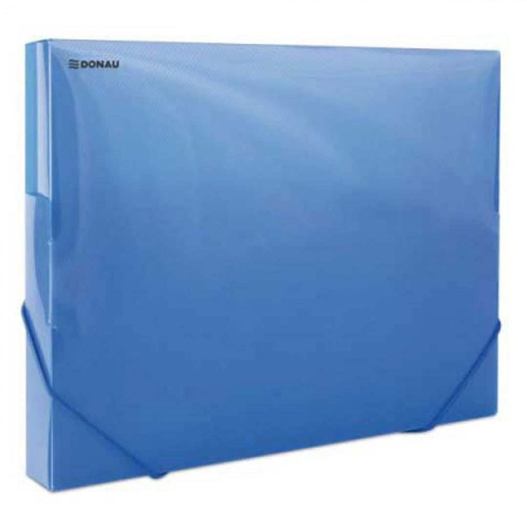b1cbbabccf024 Plastový box priehľadný modrý - Kancelárske potreby - Zakladanie a ...