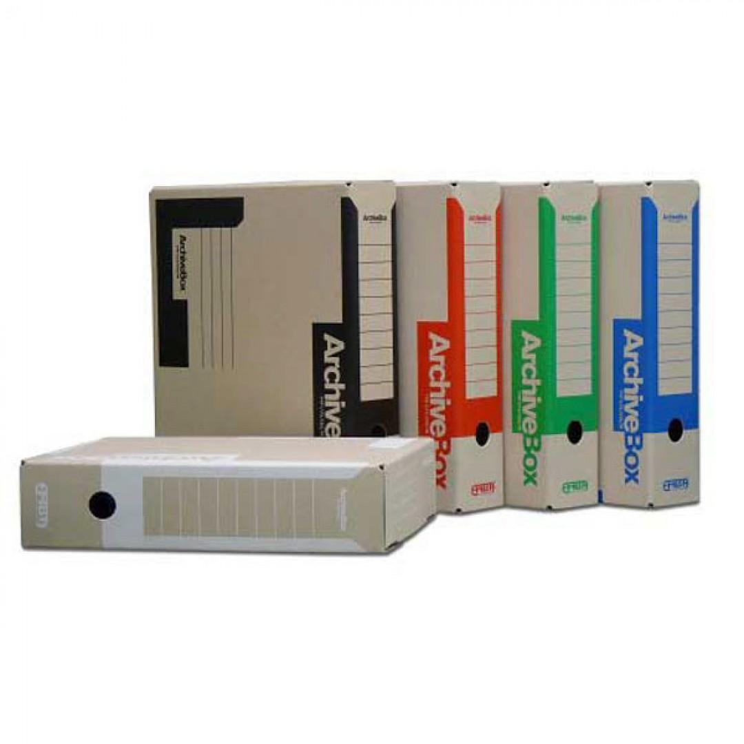 5f6b4c902 Archívny box A4 červený - Kancelárske potreby - Zakladanie a ...